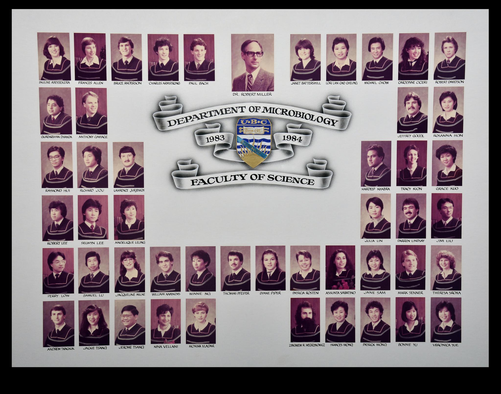 Graduating Class of 1983-1984