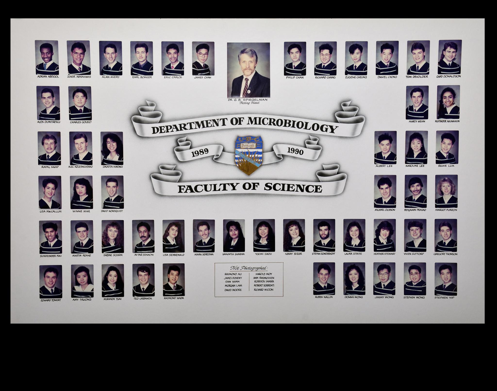 Graduating Class of 1989-1990