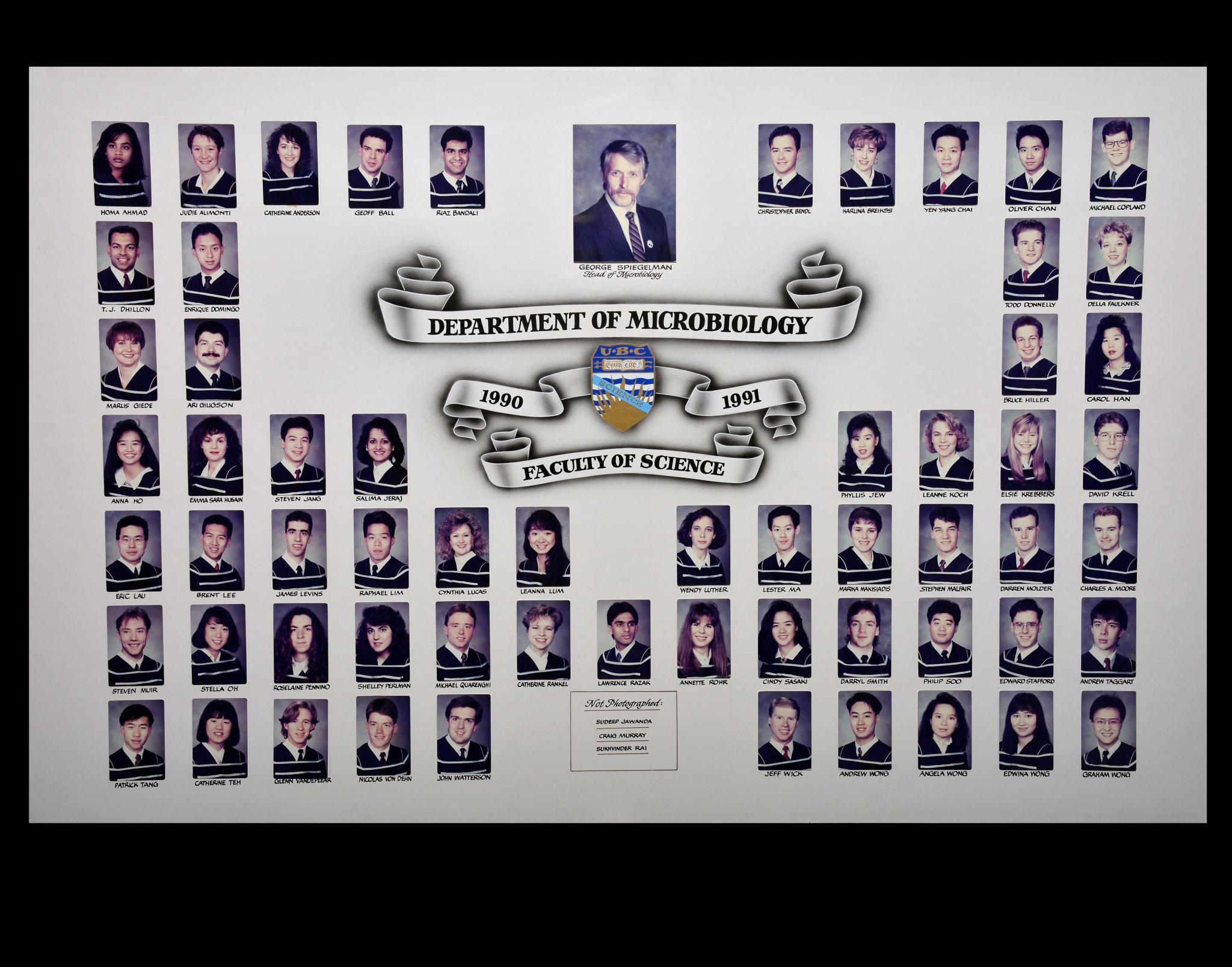 Graduating Class of 1990-1991