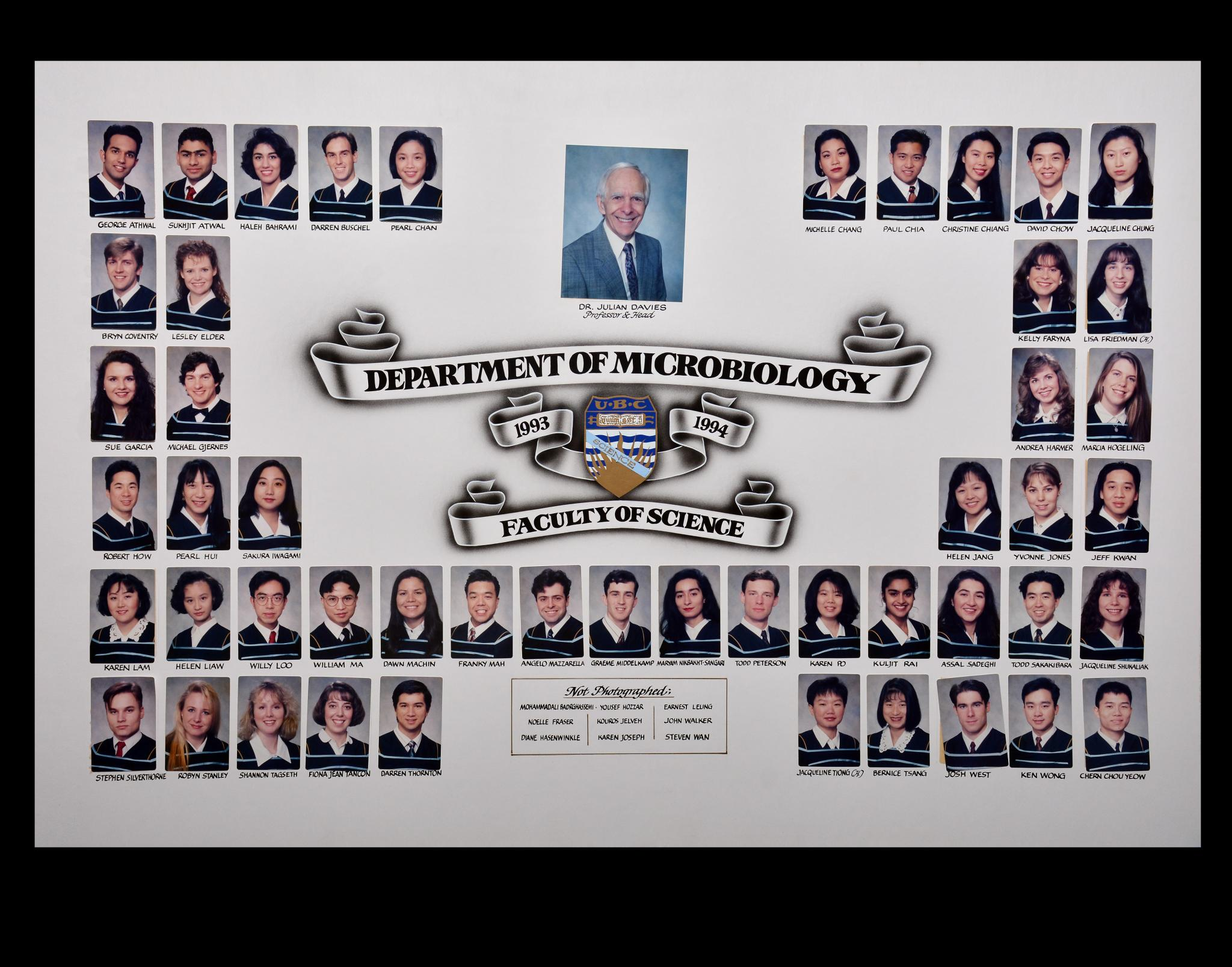 Graduating Class of 1993-1994