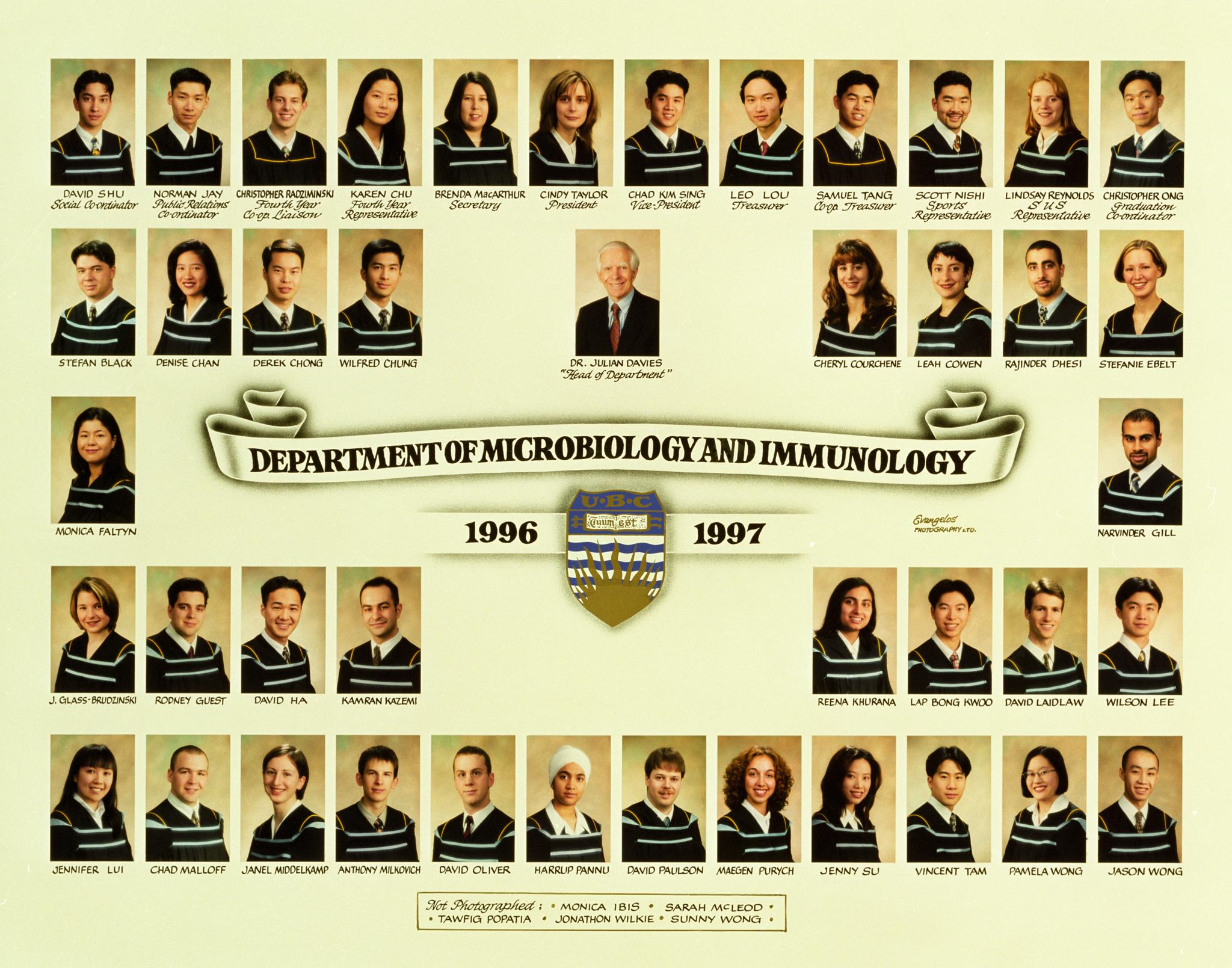 Graduating Class of 1996-1997