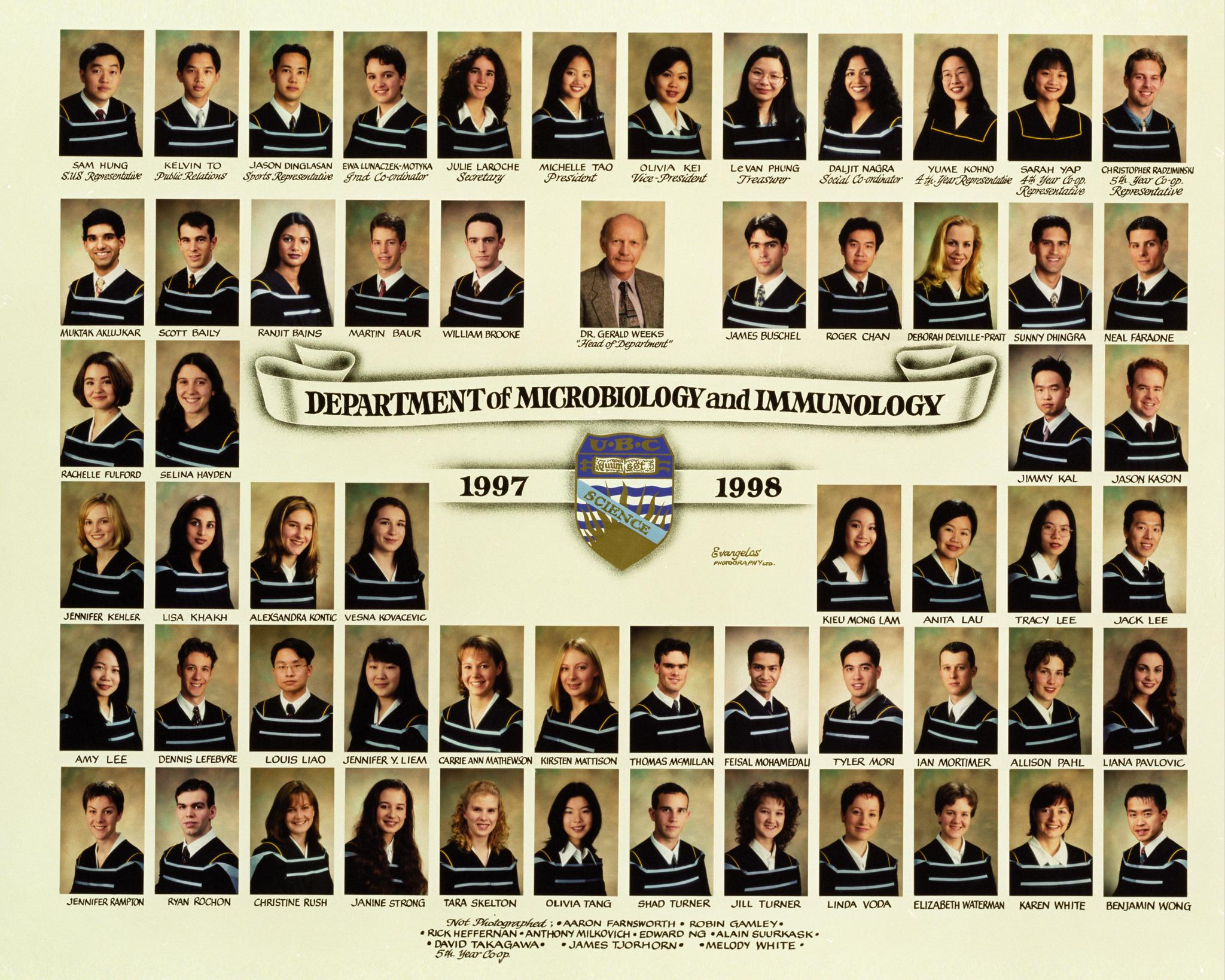 Graduating Class of 1997-1998
